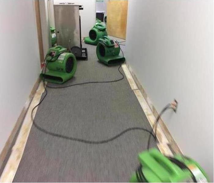 Commercial Water Damage – Lilburn Offices After