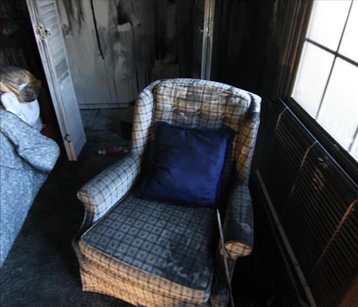 Lilburn Bedroom Charred